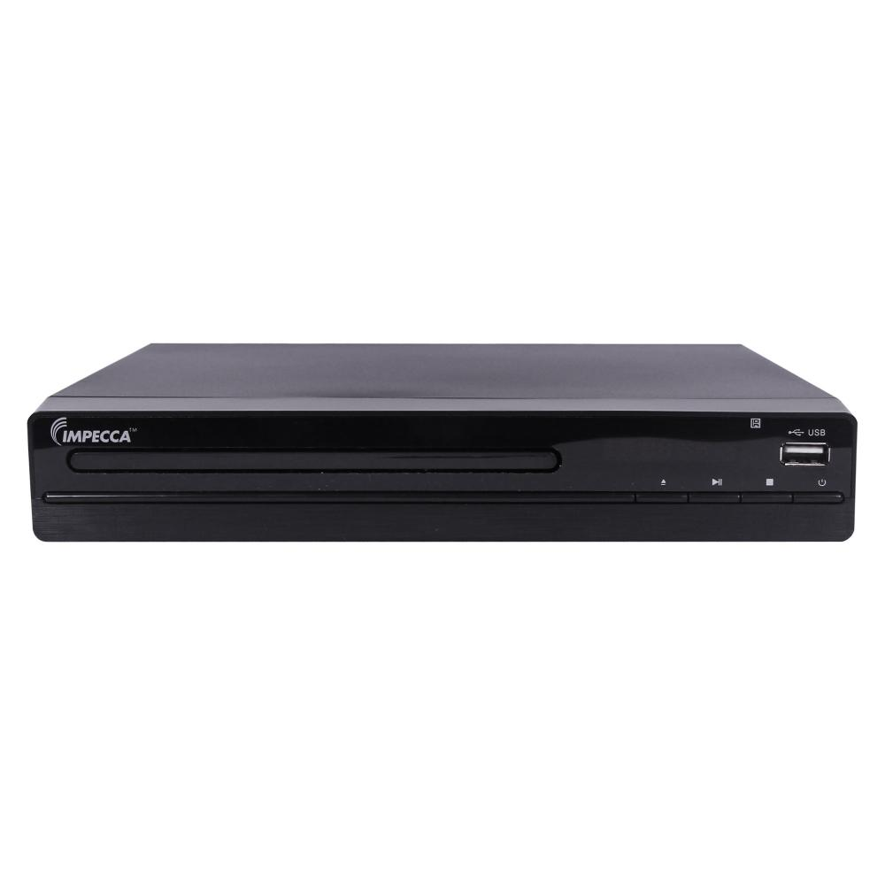 impecca dvhp 9117 compact home dvd player with hdmi and usb playback. Black Bedroom Furniture Sets. Home Design Ideas