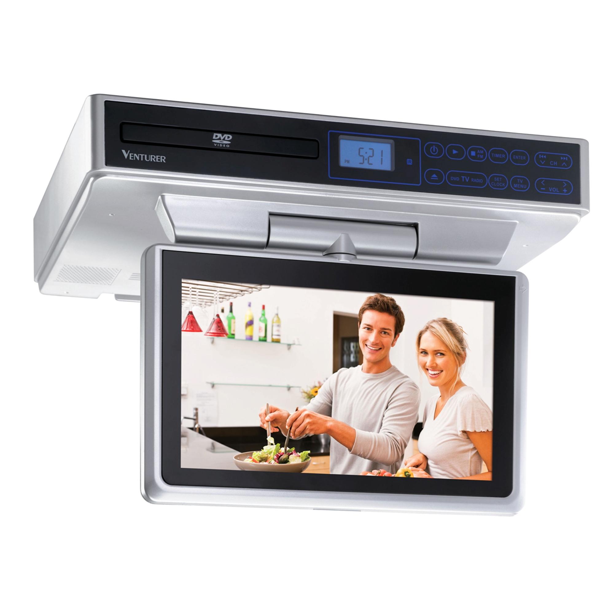 Under cabinet dvd tv