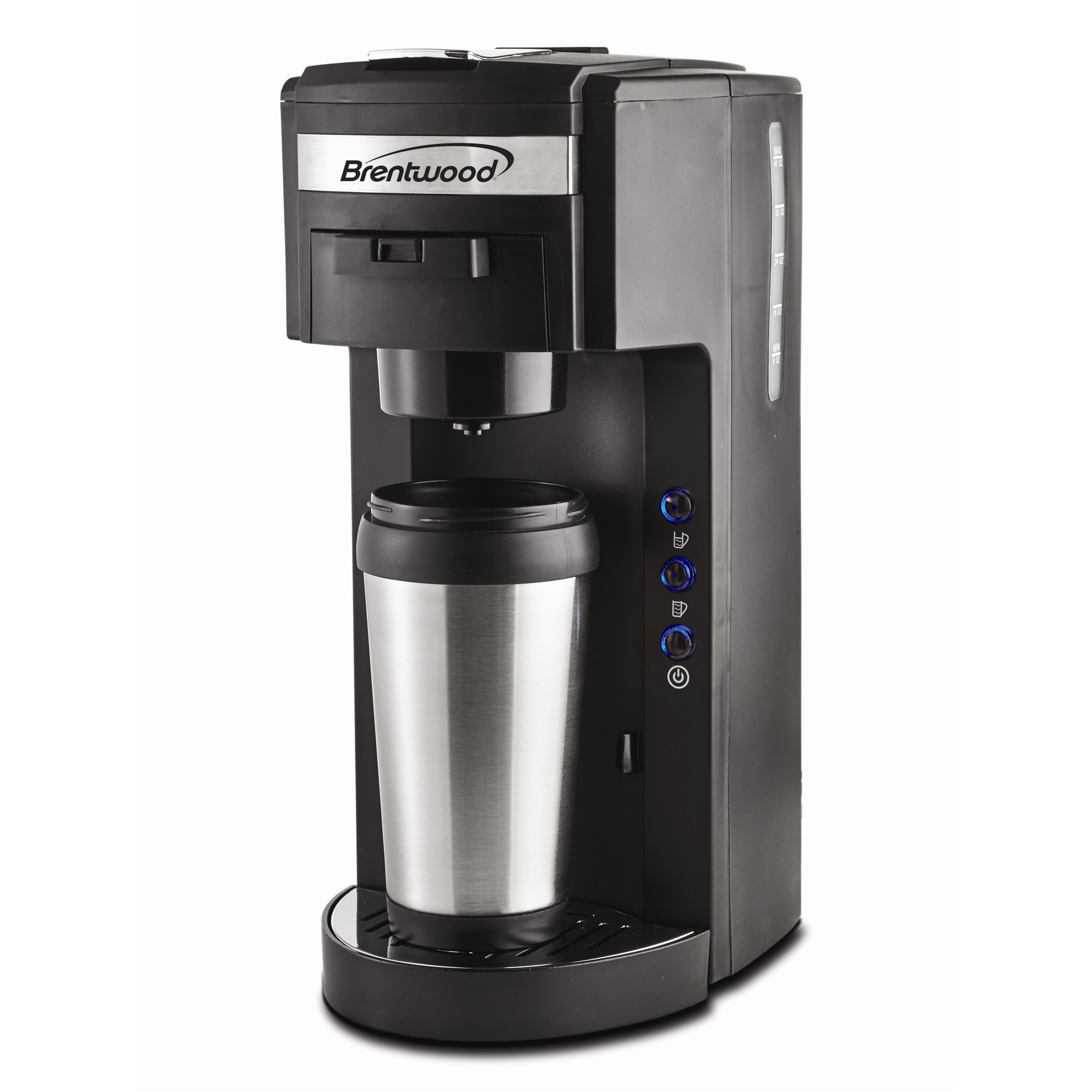 Brentwood Single Serve Coffee Maker K Cup and Soft Pod ...